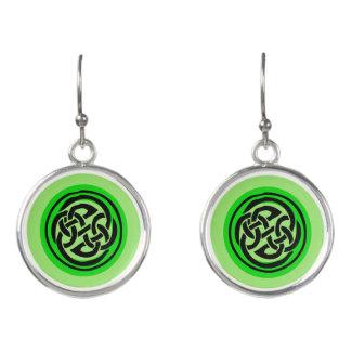 Celtic Knots Designer Earrings by Julie Everhart