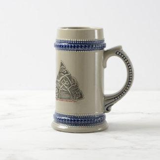 Celtic knots goblet 18 oz beer stein