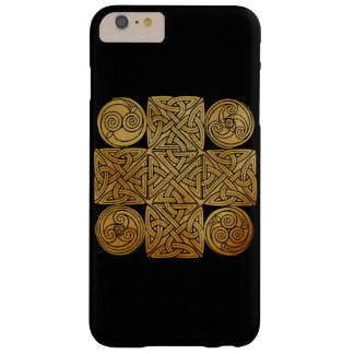 Celtic Knotwork Cross Barely There iPhone 6 Plus Case