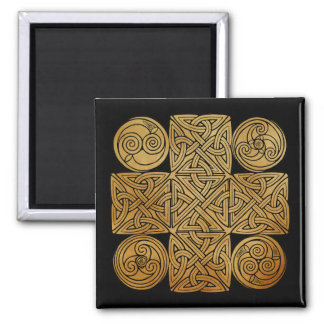 Celtic Knotwork Cross Magnet