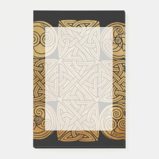 Celtic Knotwork Cross Post-it Notes