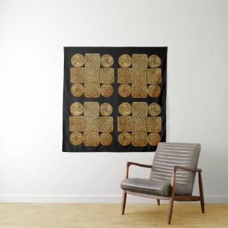 Celtic Knotwork Cross Tapestry