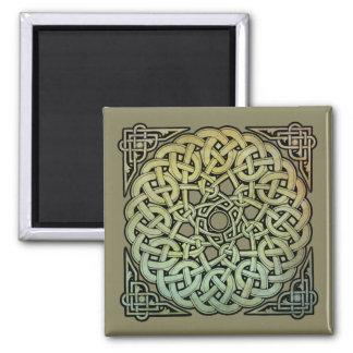 Celtic Knotwork Mandala Magnet