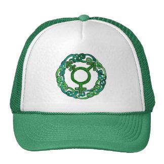 Celtic Knotwork Transgender Symbol Trucker Hat