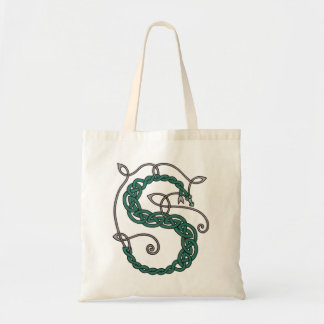 Celtic Letter S bag