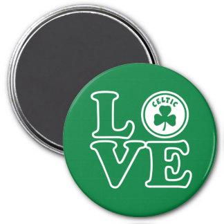 Celtic Love 7.5 Cm Round Magnet