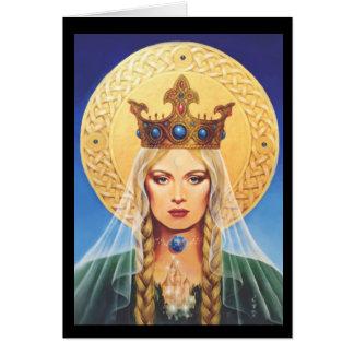 Celtic Madonna by Elizabeth Kyle. Card