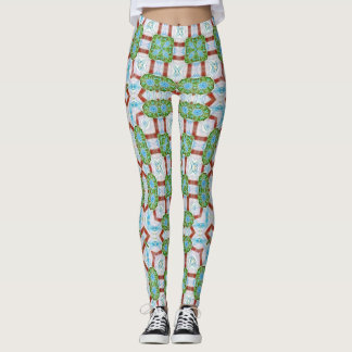 Celtic Magic Gate Design Leggings