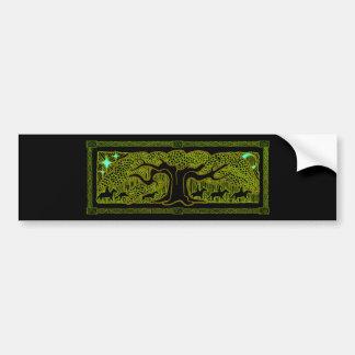 Celtic Magic - The Great Tree Bumper Sticker