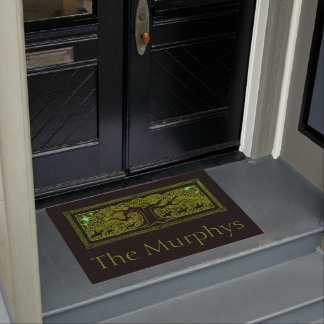 Celtic Magic - The Great Tree Personalized Doormat