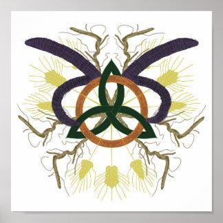 Celtic Mandala Poster