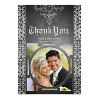 Celtic Medieval Wedding Thank You Card