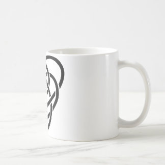 Celtic Motherhood Knot Basic White Mug