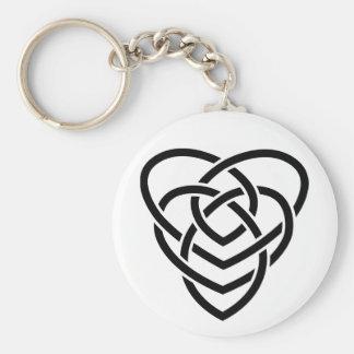 Celtic Motherhood Knot Key Ring