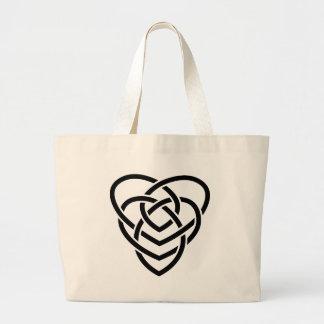 Celtic Motherhood Knot Large Tote Bag