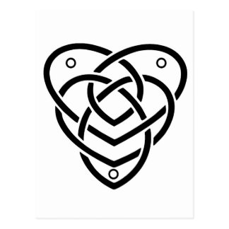 Celtic Motherhood Knot Postcard