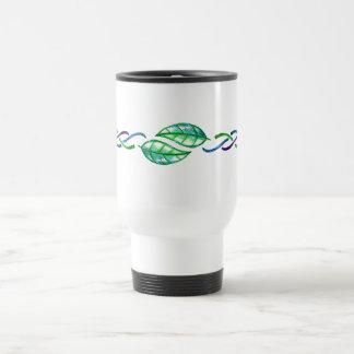 Celtic Multicolor Leaf Border Desgin Coffee Mugs
