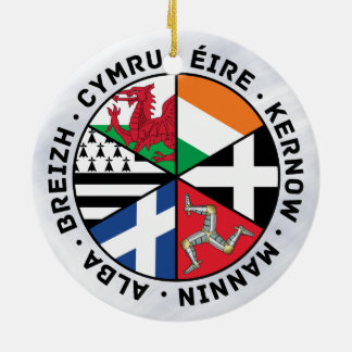 Celtic Nations Flags Decoration