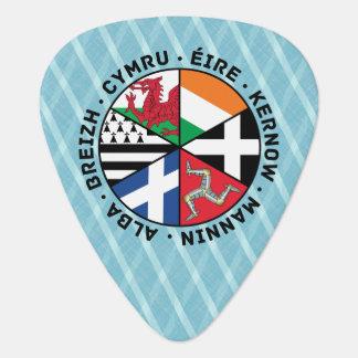 Celtic Nations Flags Plektrum Plectrum