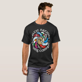 Celtic Nations Trading Company Flag Knot Logo T-Shirt