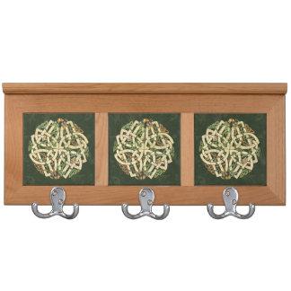 Celtic Ornament Coat Rack