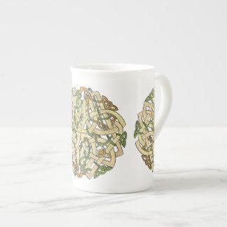 Celtic Ornament Bone China Mug