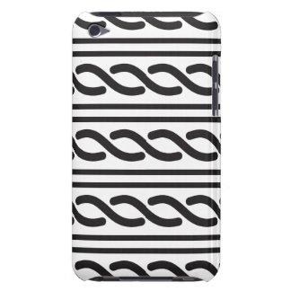 Celtic Pattern black 2 Case-Mate iPod Touch Case