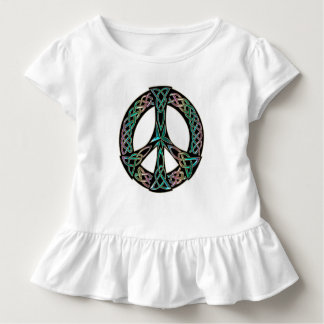 Celtic Peace - Celtic Knot Peace Sign Toddler T-Shirt