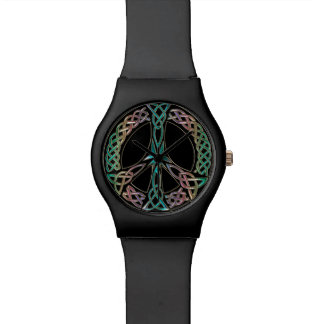 Celtic Peace Sign Watch