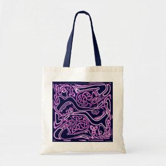 Celtic Pink Ladies Budget Tote Bag