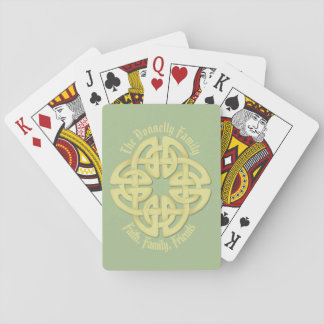 Celtic Playing Cards, Standard Index faces Playing Cards
