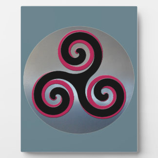 Celtic Powerful Good Luck Symbols Plaque