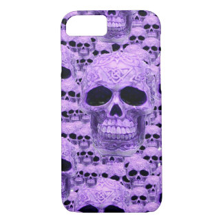 Celtic purple skull collage iPhone 8/7 case