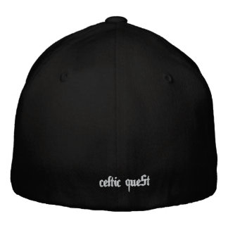 """Celtic Quest """"Clover"""" FlexFit Hat Embroidered Cap"""