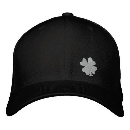 "Celtic Quest ""Clover"" FlexFit Hat Embroidered Baseball Caps"