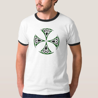 "Celtic Quest ""Slainte"" Ringer T-Shirt"