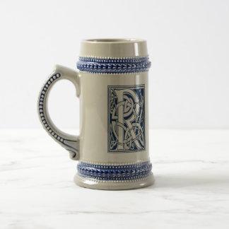 Celtic R Monogram Coffee Mug