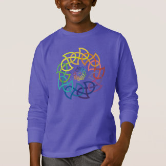 Celtic Rainbow Knotwork Rings T-Shirt