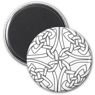 celtic rose fridge magnet