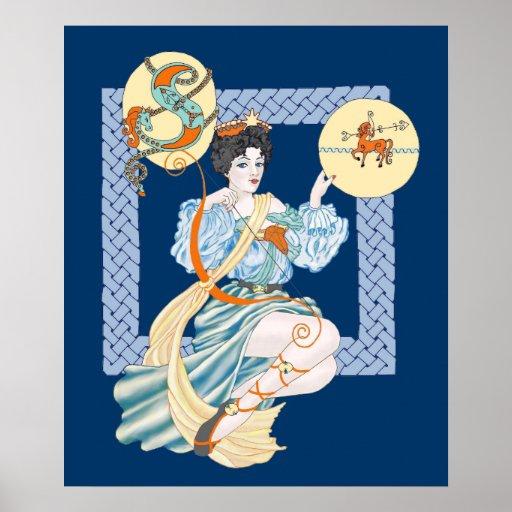 Celtic Sagittarius Print