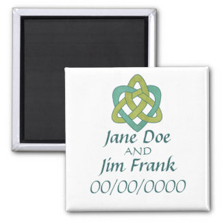 Celtic Save the Date Wedding Magnet