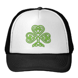 Celtic Shamrock Cap