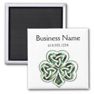 Celtic Shamrock Design 2 Magnet 2