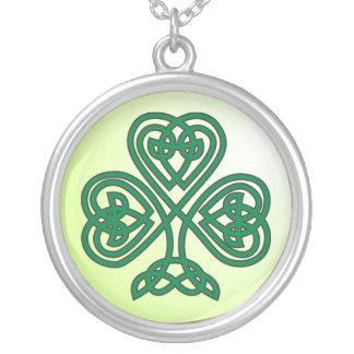 celtic shamrock necklace