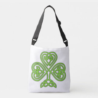 Celtic Shamrock St. Patrick's Day Irish Eire Paddy Crossbody Bag