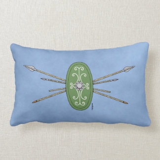 Celtic Shield and Spears Lumbar Cushion