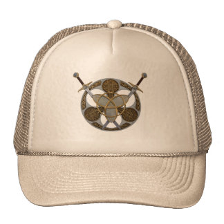 Celtic Shield and Swords Trucker Hats