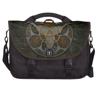 Celtic Shield and Swords Laptop Commuter Bag