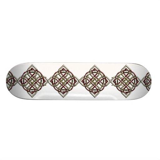 Celtic Shield Knot Skateboard