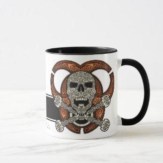 Celtic Skull & Biohazard Coffee Mug
